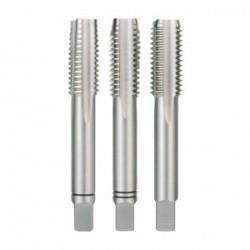 Set 3 tarozi filetare manuala, DIN352, HSS-Co5, M10, Ruko