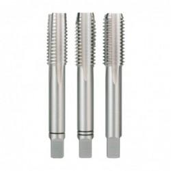 Set 3 tarozi filetare manuala, DIN352, HSS-Co5, M12, Ruko