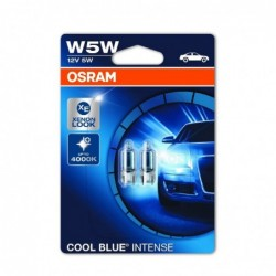 Set 2 Becuri auto Osram W5W Cool Blue Intense, 12V, 5W