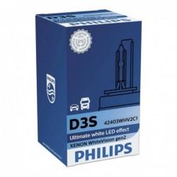 Bec Xenon D3S Philips White Vision gen 2, 35W, 42 V