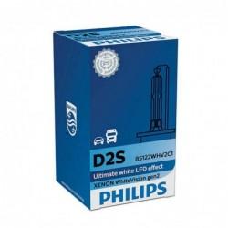 Bec Xenon D2S Philips White Vision gen 2, 35W, 1 bec