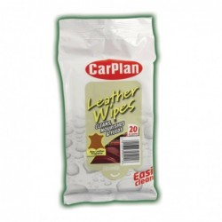 Servetele umede tratament piele CarPlan XL Leather Wipes...