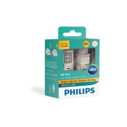 Leduri auto semnalizare WY21W + CANBUS Philips Ultinon...