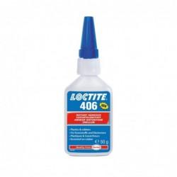Loctite 406 - Adeziv instant pentru plastic si cauciuc, 50 g