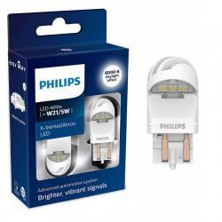 Set 2 leduri auto Philips W21/5W LED X-treme Ultinon LED...