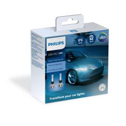Leduri auto proiectoare Philips H1 Philips Ultinon...