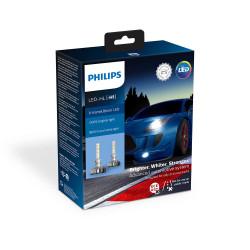 Leduri auto proiectoare Philips H1 Philips Xtreme Ultinon...