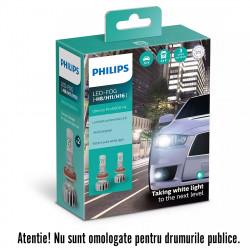 Leduri auto H8/H11/H16 Philips Ultinon Pro5000 HL, 5800...
