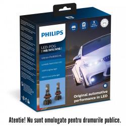 Leduri auto Philips H8/H11/H16 Ultinon Pro9000, 5800 K,...