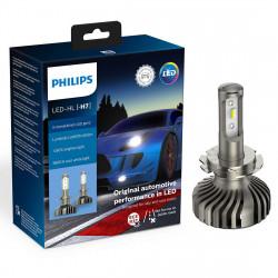 Leduri auto faruri Philips H7 Philips X-treme Ultinon LED...