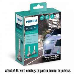 Leduri auto H1 Philips Ultinon Pro5000 HL, 5800 K, 12 /...