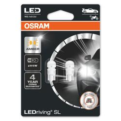 Leduri auto WY5W Osram LEDriving SL, galben