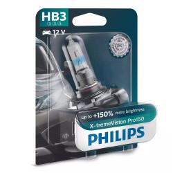 Bec auto Philips HB3 X-tremeVision Pro 150, 12V, 65W
