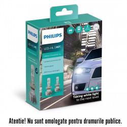 Leduri auto H7 Philips Ultinon Pro5000 HL, 5800 K, 12 /...