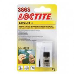 Loctite 3863 Circuit+ - Set reparare dezaburitor luneta, 2 g