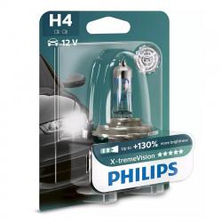 Bec auto H4 Philips Xtreme Vision +130, 12V, 60/55W,...