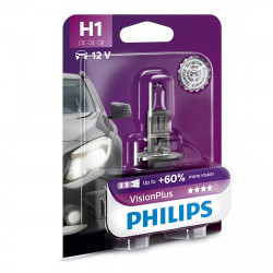 Bec auto Philips H1 Vision Plus 60, 12V, 55W