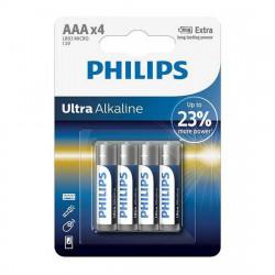 Baterie LR03/AAA Philips Ultra Alkaline, blister 4...