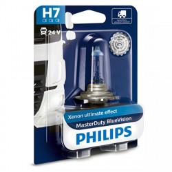 Bec far camion H7 Philips Master Duty Blue Vision, 24V,...