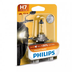 Bec motocicleta H7 Philips Vision Moto, 12V, 55W