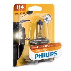 Bec motocicleta H4 Philips Vision Moto, 12V, 60/55W