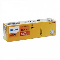 Becuri auto bord W2.3W Philips Vision, 12V, 2.3W