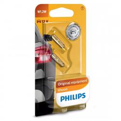 Becuri auto bord W1.2W Philips Vision, 12V, 1.2W