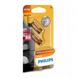Becuri auto Philips WY5W Vision, 12V, 5W