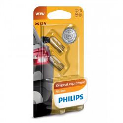 Becuri auto Philips W3W Vision, 12V, 3W