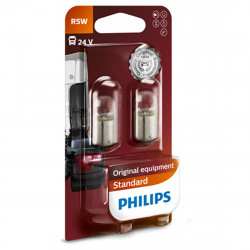 Becuri auxiliare R5W Philips Standard, 24V, 5W - Blister...