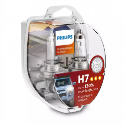 Set 2 becuri auto Philips H7 X-tremeVision G-force +130,...
