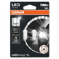 Set 2 becuri LED auto pozitie W5W Osram LED Standard...