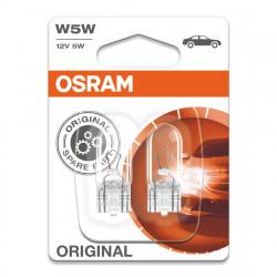 Becuri auto Osram W5W Original Line, 12V, 5W