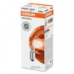 Becuri auto Osram H6W Original Line, 12V, 6W