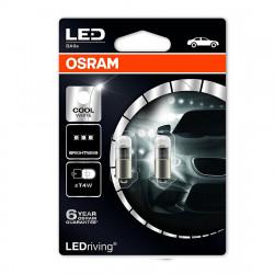 Set 2 becuri LED auto exterior T4W Osram LED Premium...