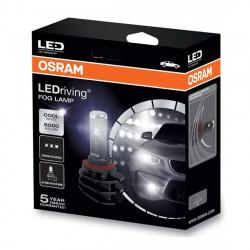 Bec LED Osram H8/H11/H16 66220CW LEDriving 2buc/set