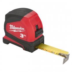 Ruletă Milwaukee Pro Compact, 3 m