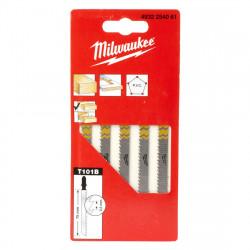 Set 5 pânze pentru fierăstraie pendulare, Milwaukee, 75 x...