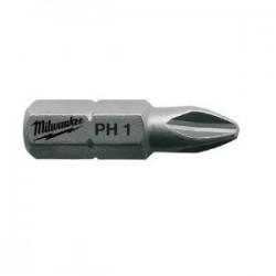 Set 25 biti PH1 Milwaukee, 25 mm