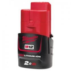 Acumulator Milwaukee M12 B2, 2 A, 12 V