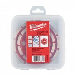 Disc cupa diamantat, Milwaukee DCWU 125, 125 mm