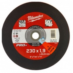 Disc debitare metal, 1.9 x 230 mm, Milwaukee