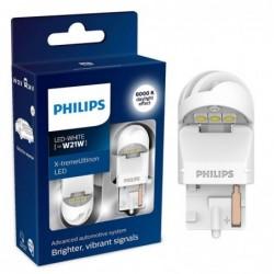 Set 2 leduri auto Philips W21W LED X-treme Ultinon LED...