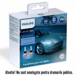 Leduri auto proiectoare Philips H3 Philips Ultinon...