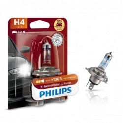 Bec auto Philips H4 X-tremeVision G-force +130, 12 V,...